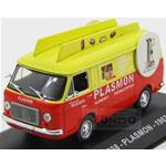 Fiat 238 Van Plasmon 1967 Orange Yellow Edicola 1:43 VPDC003