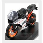 Ktm Rc390 2015 Black White Orange MAISTO 1:18 MI14175