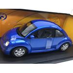 Volkswagen New Beetle Coupe 1998 Blu Gate Series AUTOART 1:18 GA01031