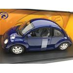 Volkswagen New Beetle Coupe 1998 Blu Scuro Gate Series AUTOART 1:18 GA01034