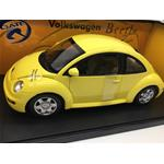 Volkswagen New Beetle Coupe 1998 Yellow Gate Series AUTOART 1:18 GA01036
