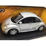 Volkswagen New Beetle Coupe 1998 Silver Gate Series AUTOART 1:18 GA01038